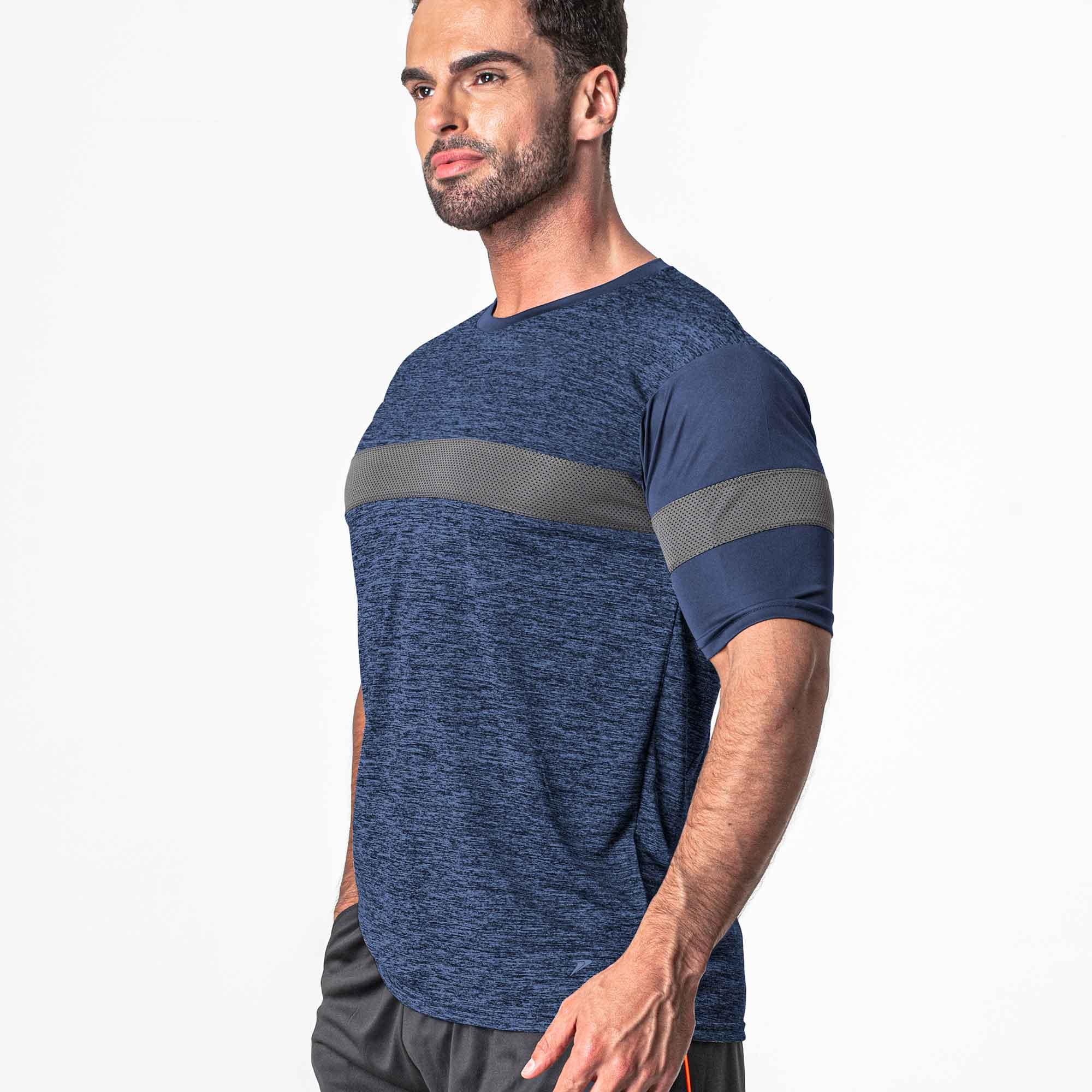 Camisa Poker Esportiva Advance Azul