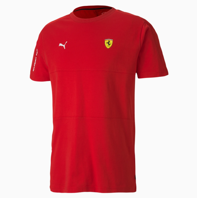 Camisa Ferrari Puma de Scuderia Ferrari T7 - Vermelho