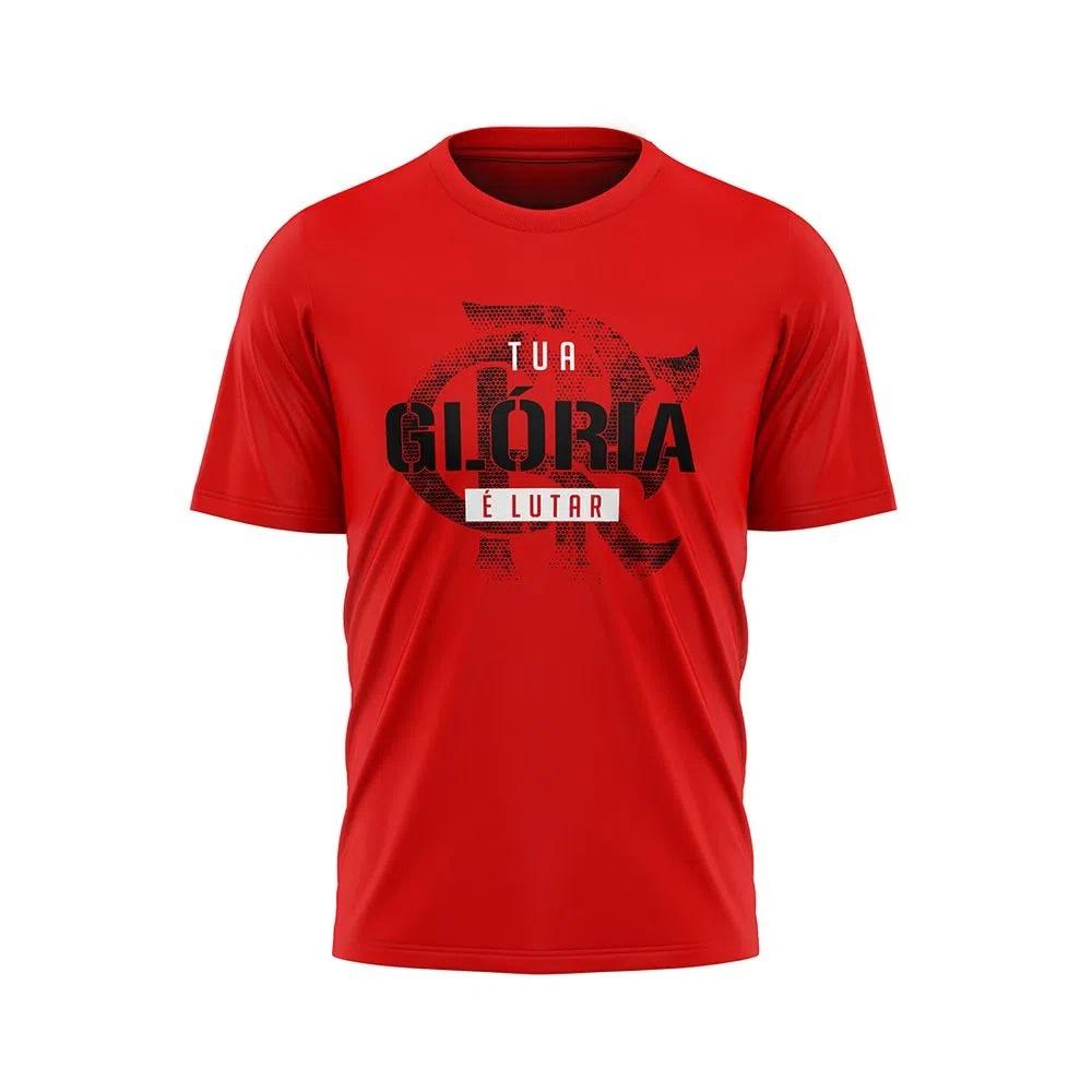 Camisa Flamengo Basics Braziline - Vermelha