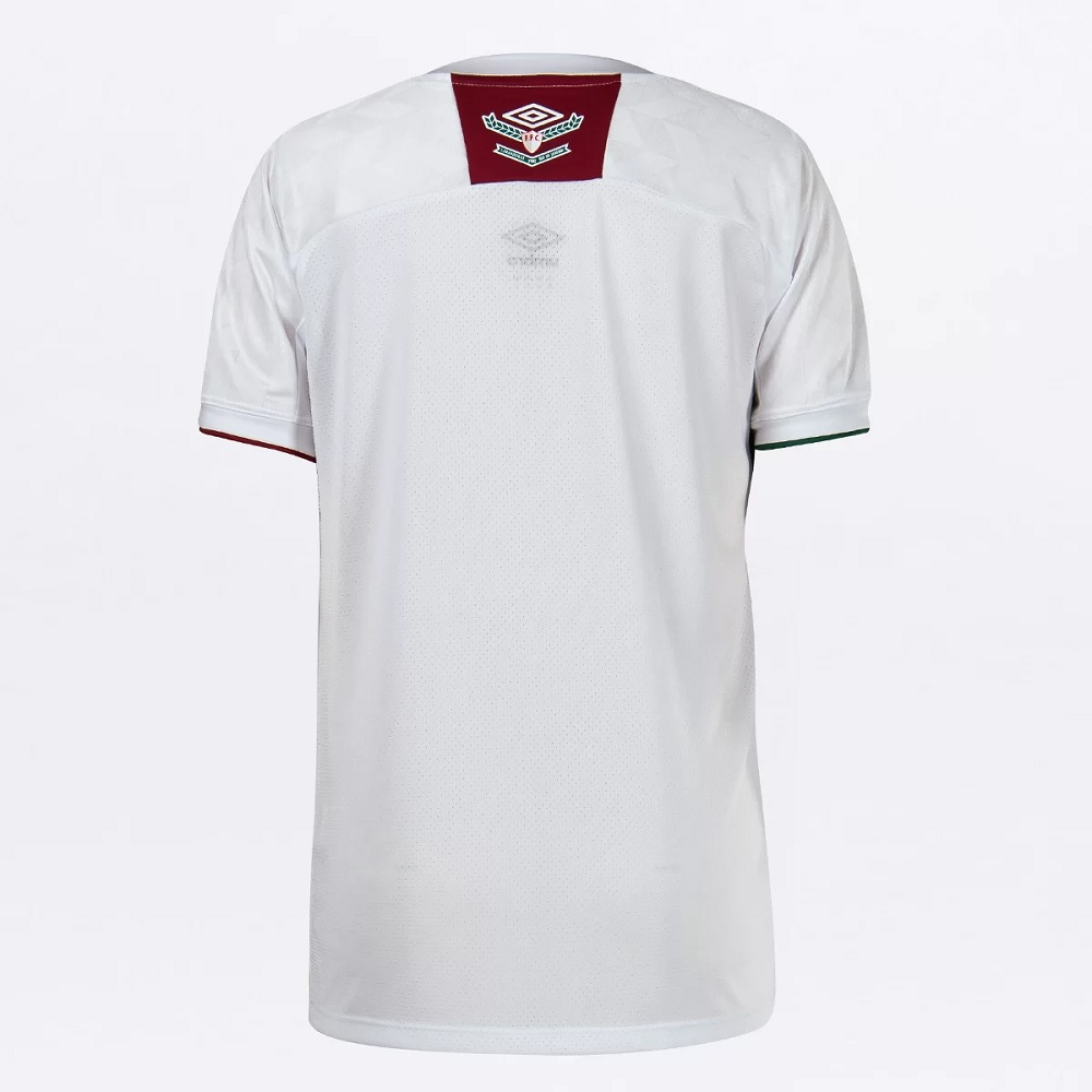 Camisa Fluminense II 20/21 s/n° Torcedor Umbro Masculina - Branco e Verde
