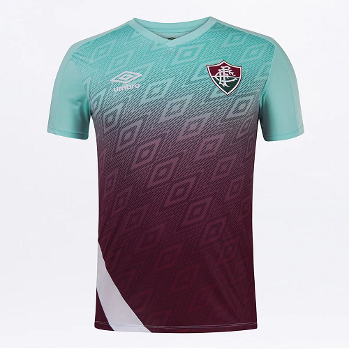 Camisa Fluminense Treino 20/21 Umbro Masculina - Verde