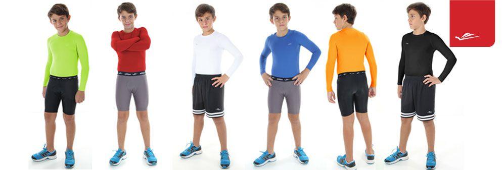 Camisa Infantil Elite Térmica com Uv 50 - Elite (cores na descrição)