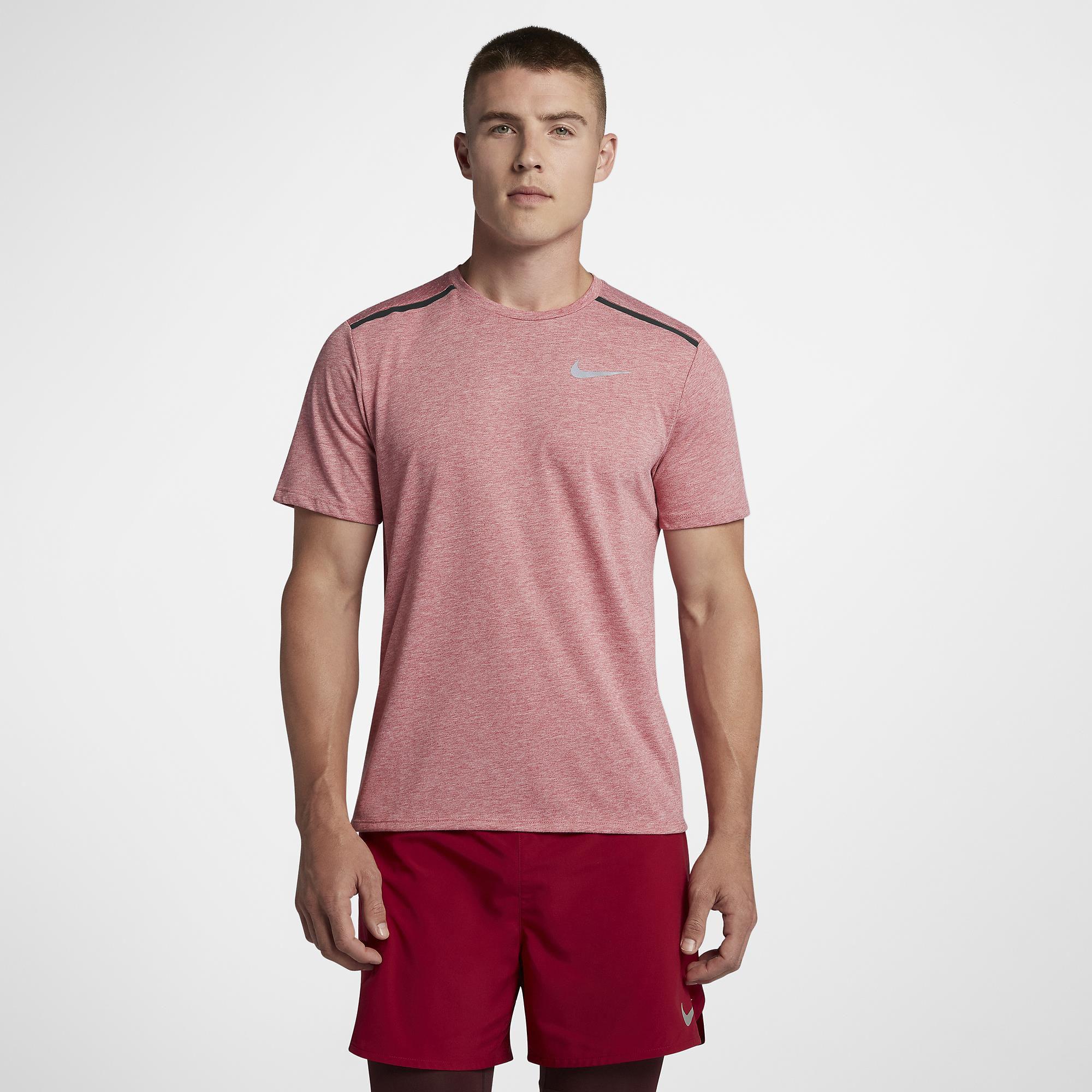 a489beea2ccbd Camisa Maculina Nike Dri-fit Tailwind - Rosa - Titanes Esportes