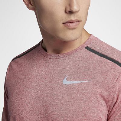 Camisa Maculina Nike Dri-fit Tailwind  - Rosa