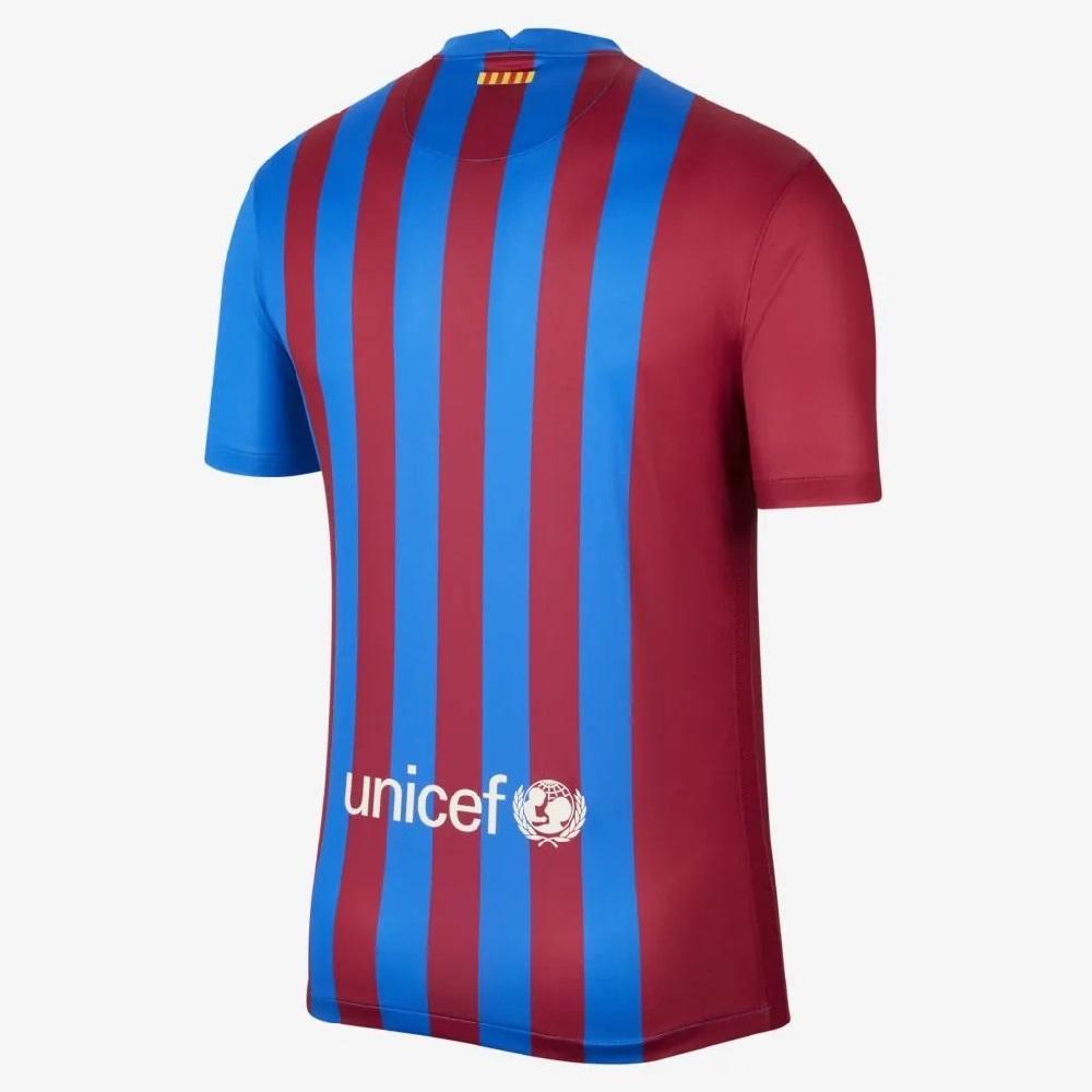 Camisa Nike Barcelona I 2021/22 - Azul