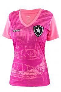 8f73be73c3ef4 Camisa Oficial Botafogo Outubro Rosa 2018 - Original - Titanes Esportes