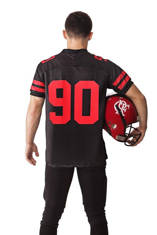 Camisa Oficial Flamengo Imperadores - Futebol Americano - Titanes Esportes b2fe61ba0a1