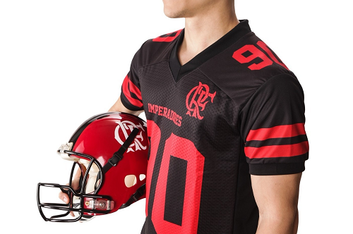 Camisa Oficial Flamengo Imperadores - Futebol Americano
