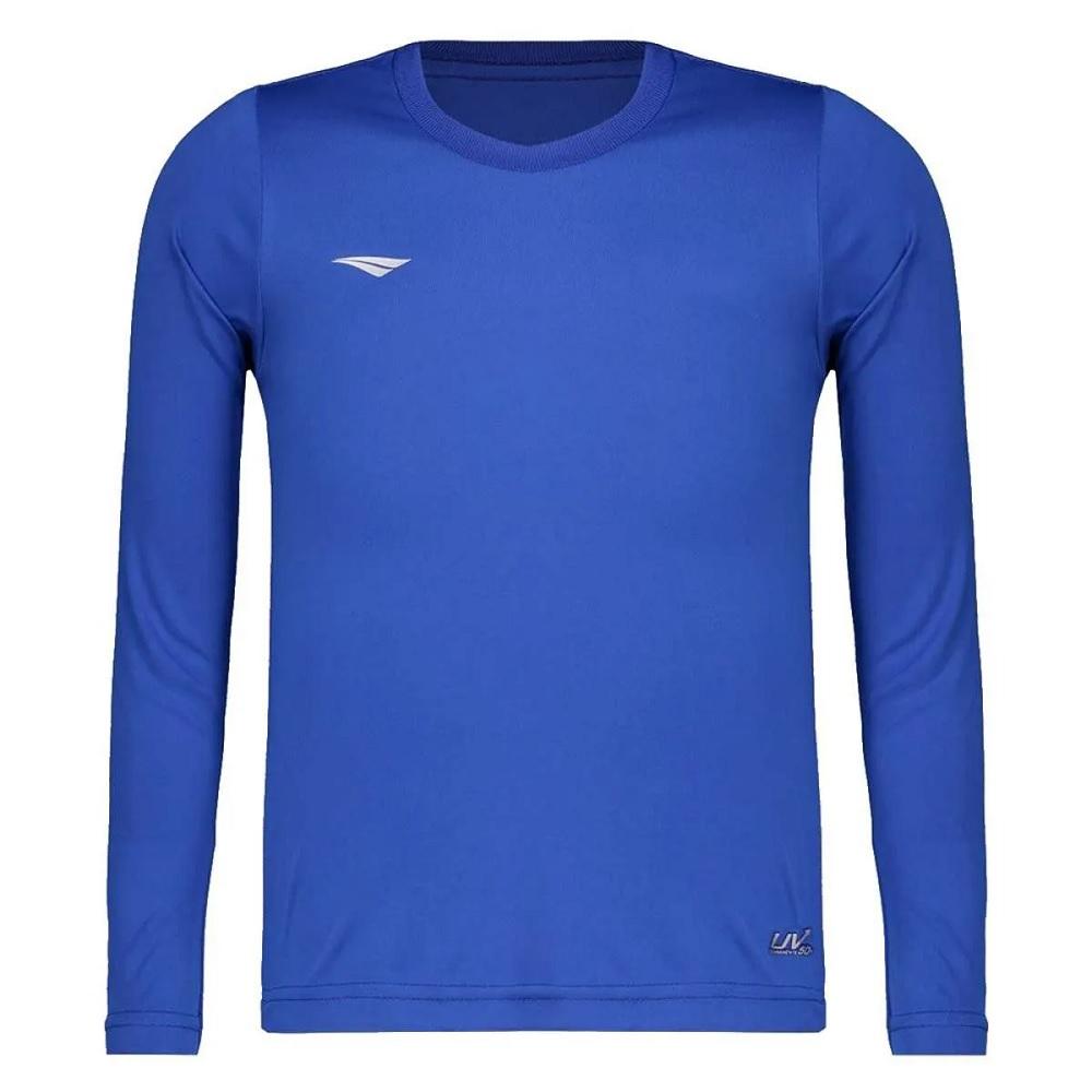 Camisa Penalty Matís Manga Longa Infantil - Azul