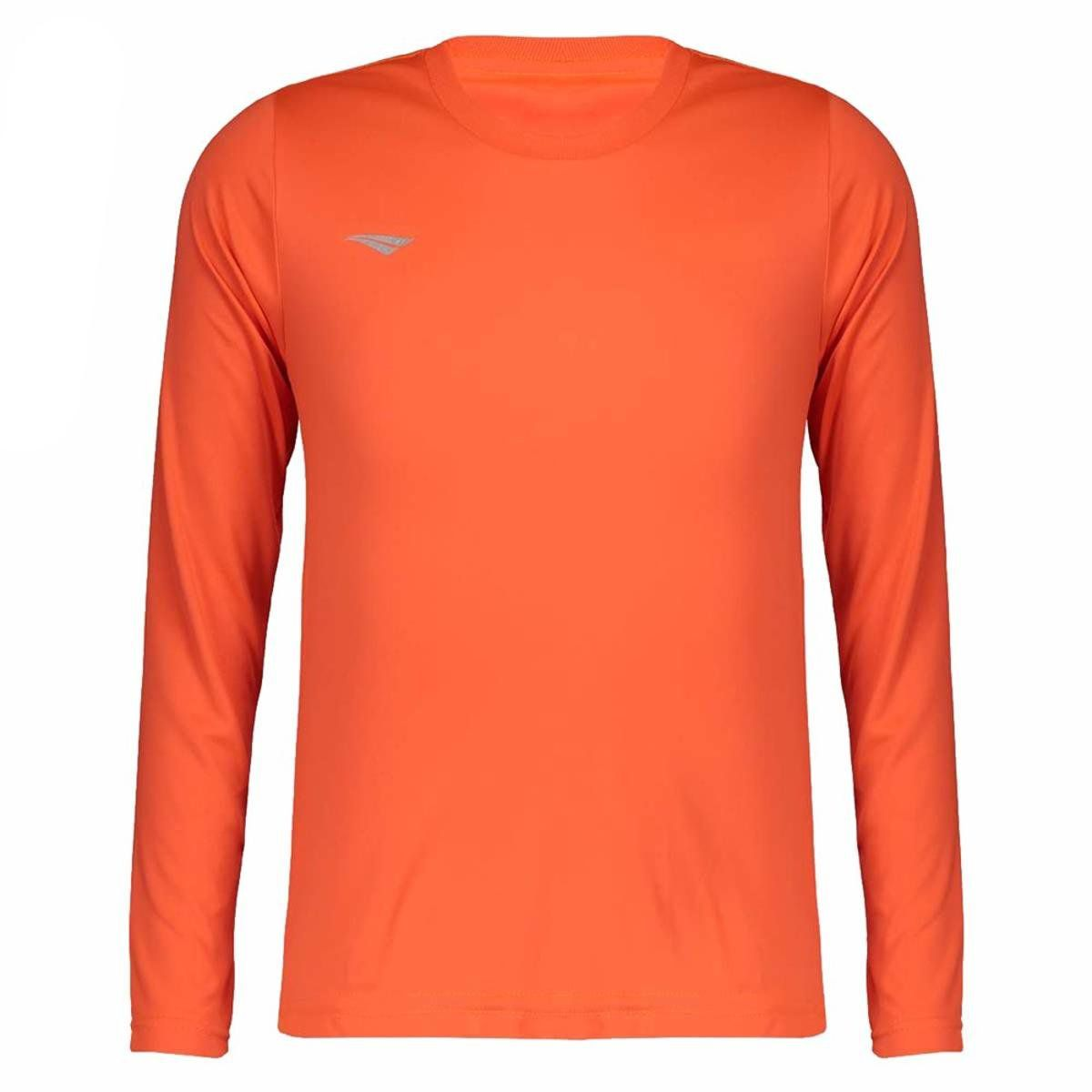 Camisa Penalty Matís Manga Longa Infantil - Laranja