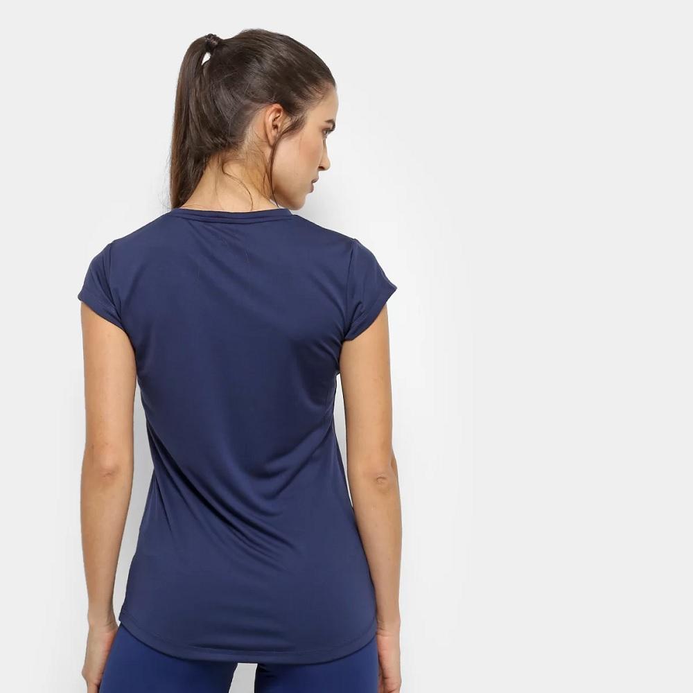 Camiseta Puma Active Feminina - Azul