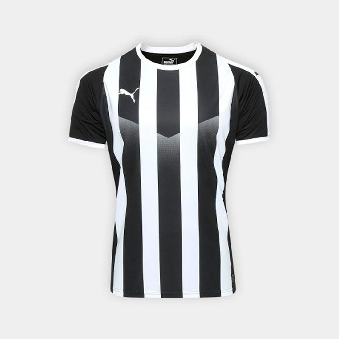 Camisa Puma Liga Jersey Striped Listrada
