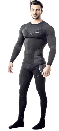 Camisa Skin comfort X-Ray M/L Poker - Preta