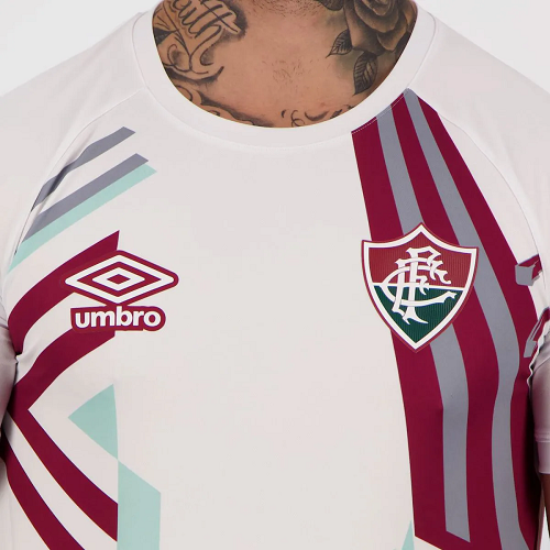 Camisa Umbro Fluminense Goleiro 20/21 Branca