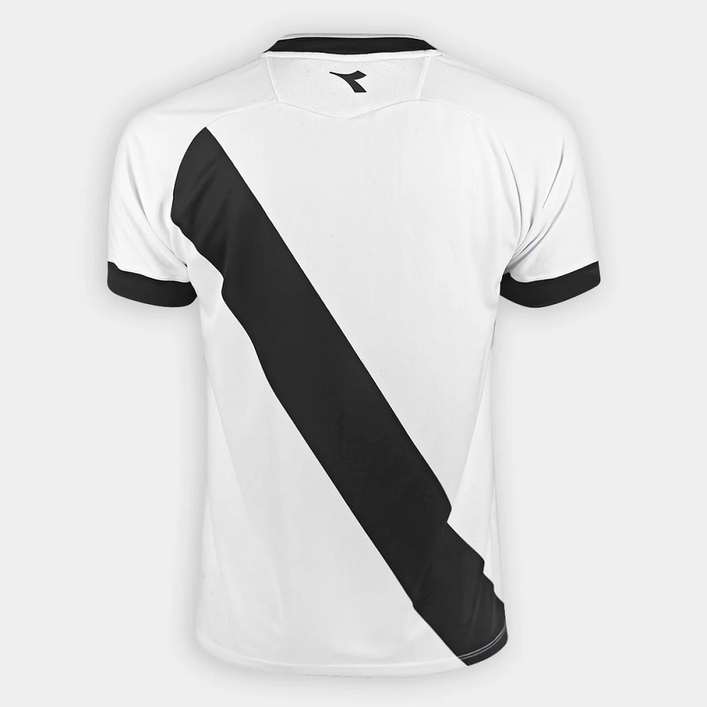 Camisa Vasco Diadora II Fan Oficial - Branca