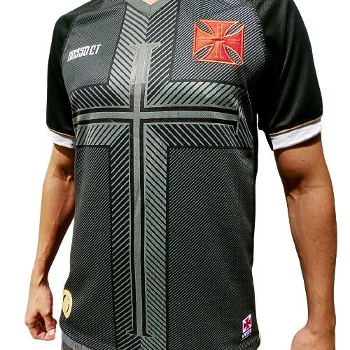 Camisa Vasco Fan CT 2020 Edição limitada Kappa - Masculina Preta