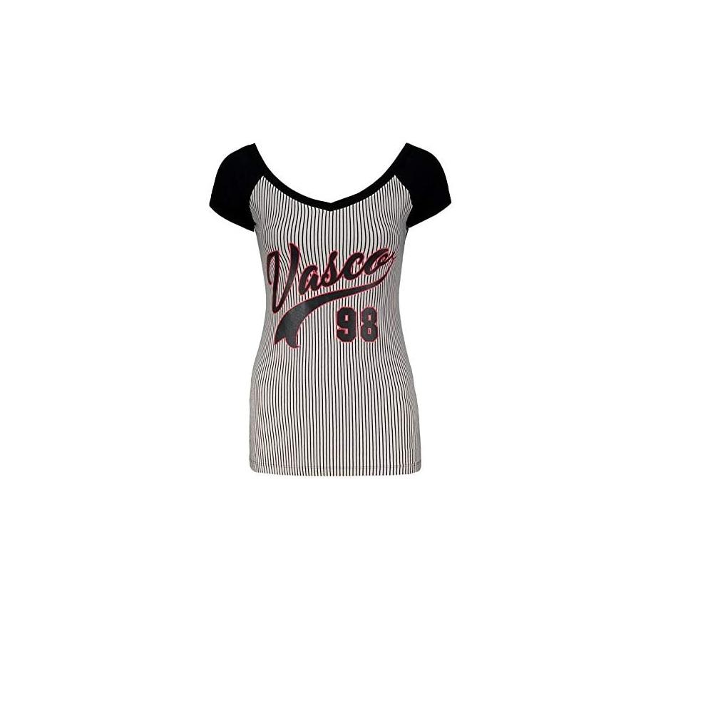 Camisa Vasco Glee Listrada Braziline - Feminina