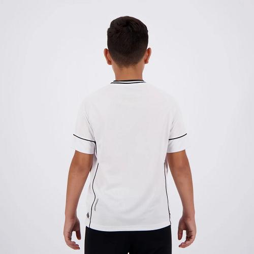 Camisa Vasco Kombat I Player Home 2020 Branca Kappa - Juvenil