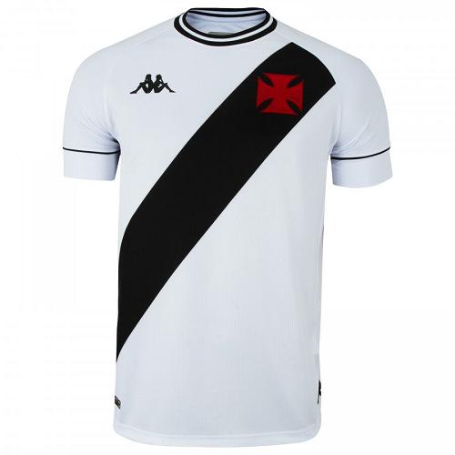 Camisa Vasco Kombat I Player Home 2020 Kappa - Masculina Branca