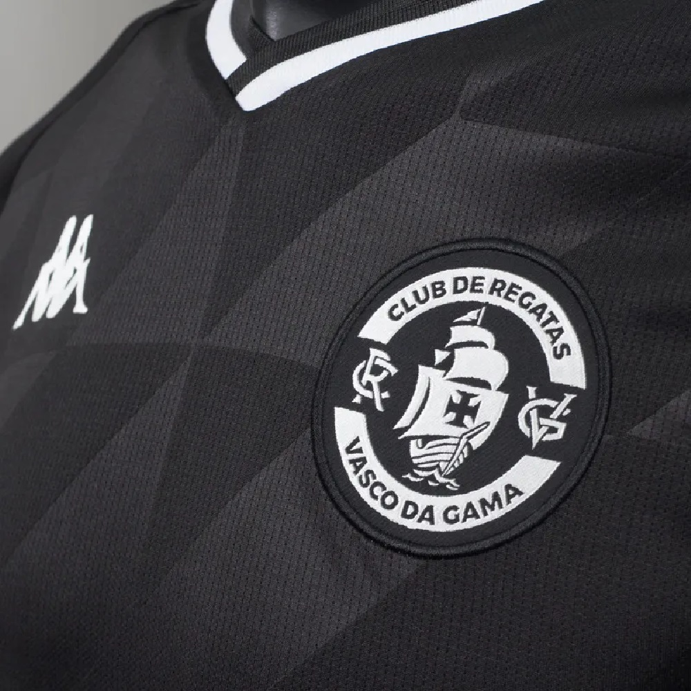 Camisa Vasco Oficial III 2021 Kappa Masculina