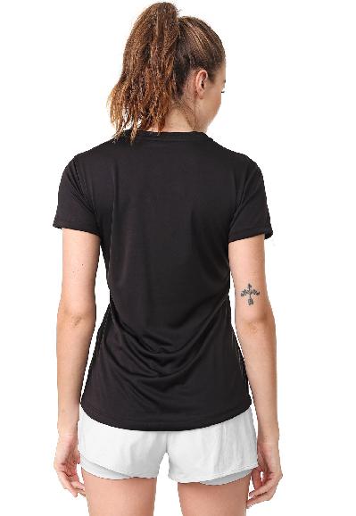 Camiseta Area Sports Tan Preta
