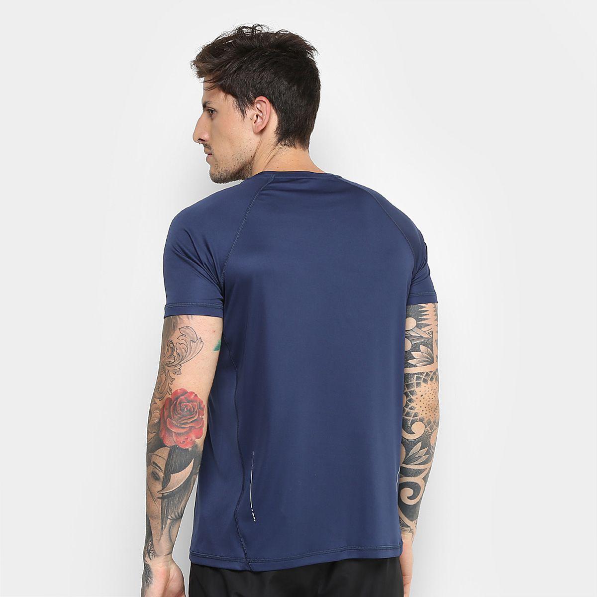 Camiseta Asics Core Pes Ss I Masculina - Marinho - Original
