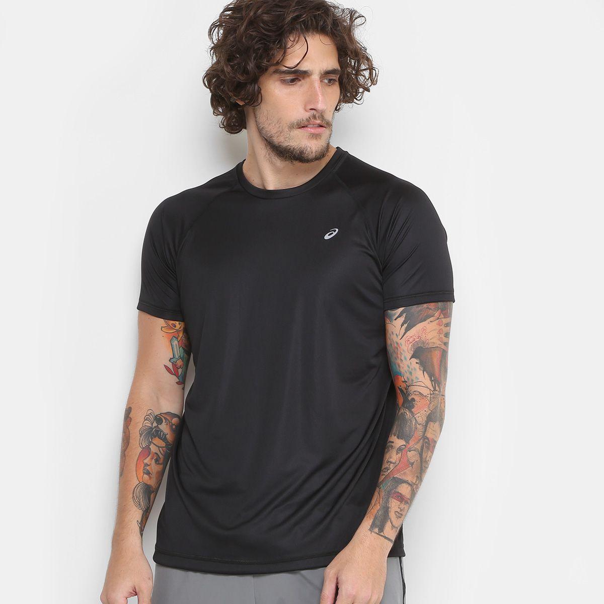 Camiseta Asics Core Pes Ss I Masculina - Preto