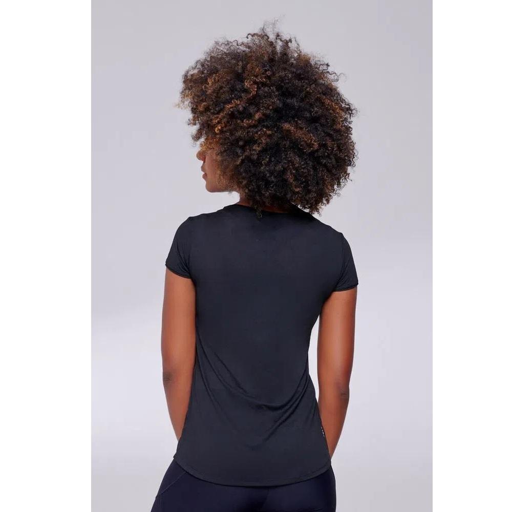 Camiseta Authen Keep Cool Extended - Preto