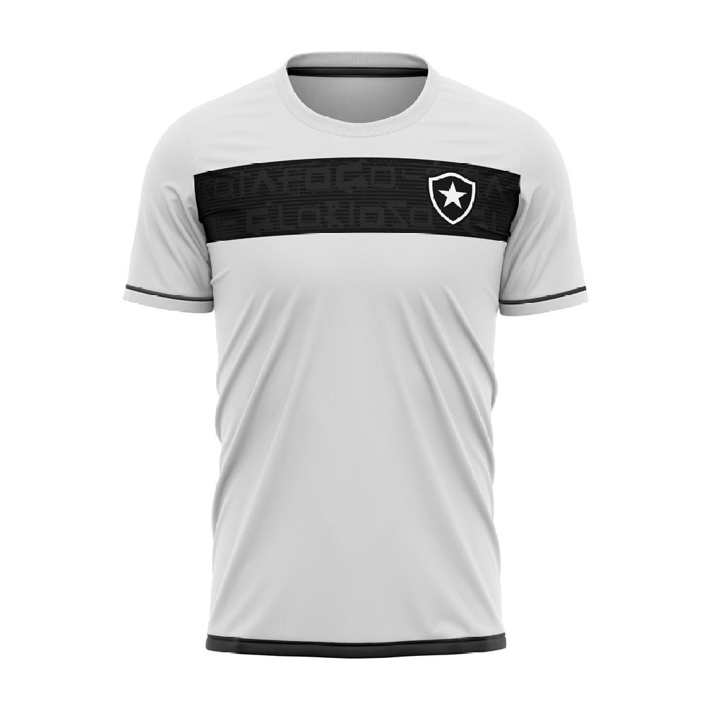Camiseta Botafogo Approval Braziline Infantil - Branca