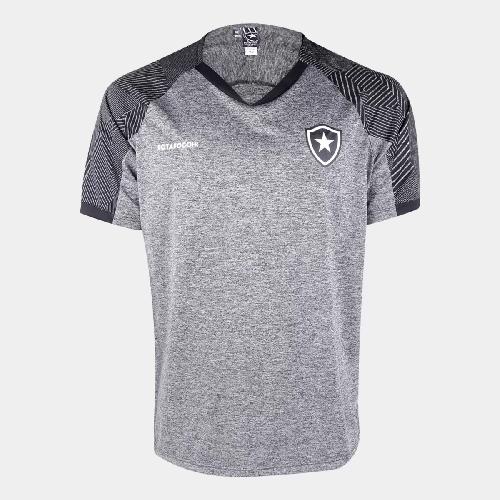 Camiseta Botafogo Gloam - Masculina Preta Mescla
