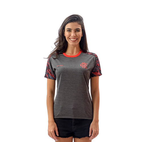 Camiseta Flamengo From Feminina - Braziline