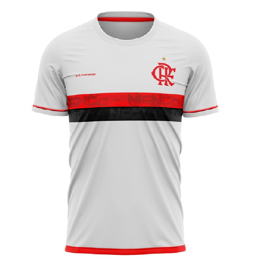 Camiseta Flamengo Approval Braziline Infantil - Branca