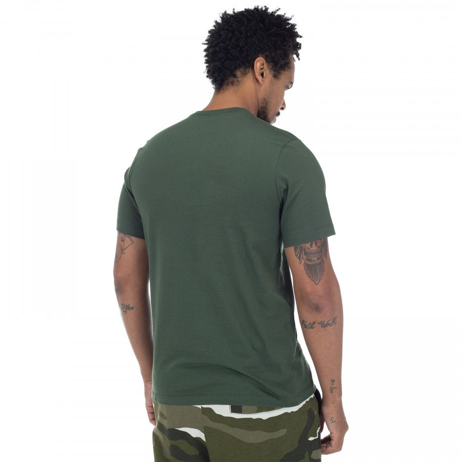 Camiseta Masculina Nike Tee Icon Futura - Verde Escuro