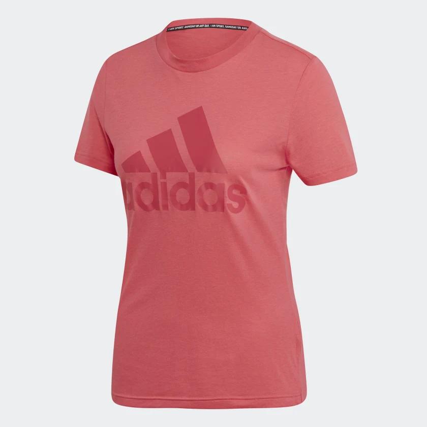 CAMISETA Adidas MUST HAVES BADGE OF SPORT Rosa