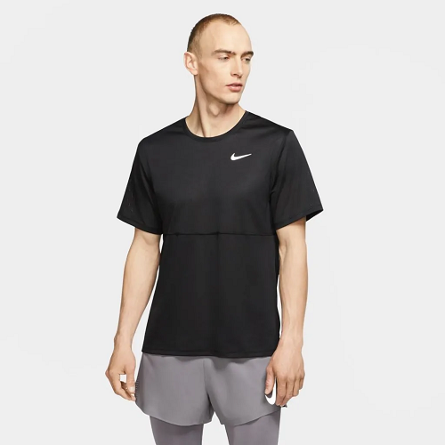 Camiseta Nike Breathe Run To Masculina - preta