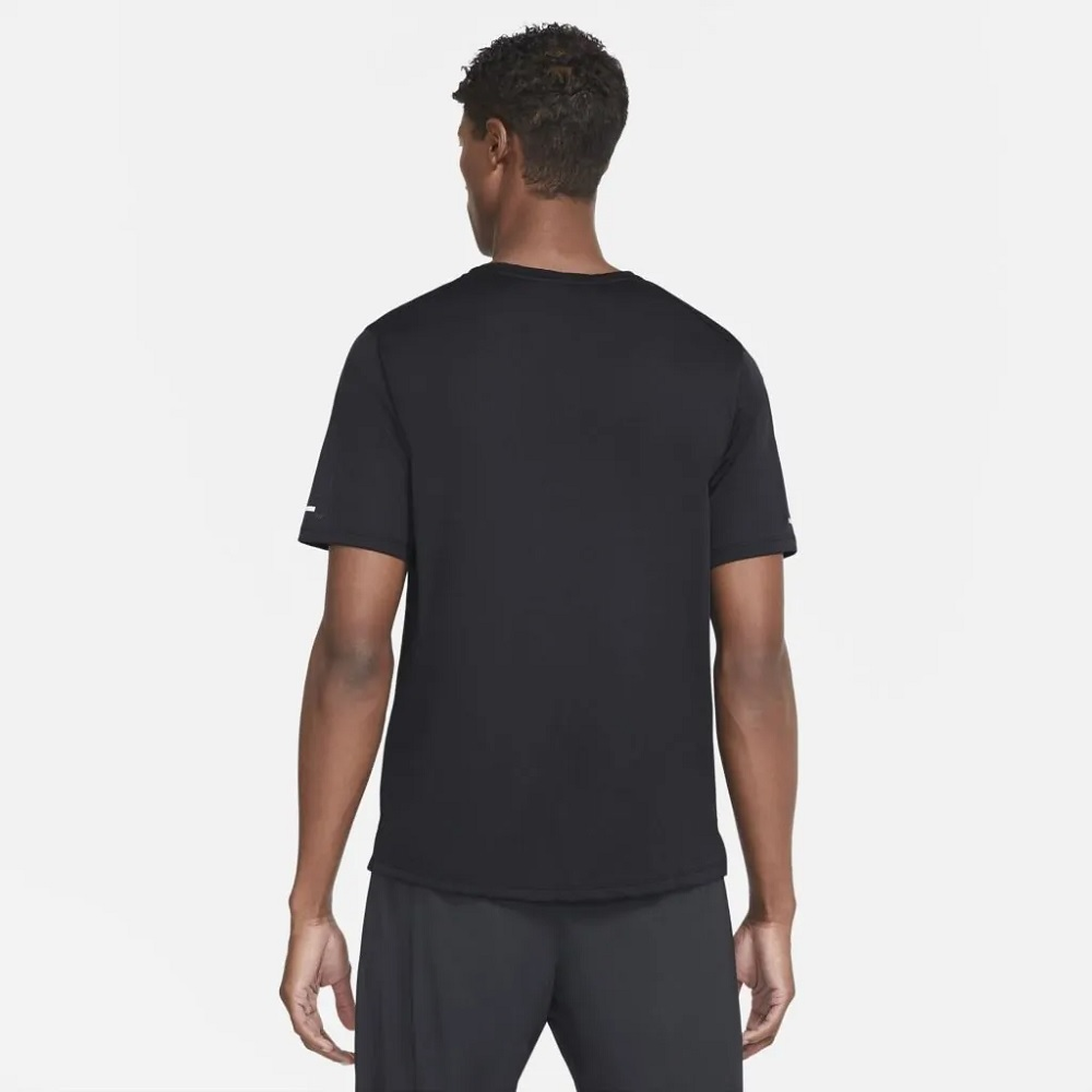 Camiseta Nike Dri-FIT Miler Wild Run - Masculina - Preta