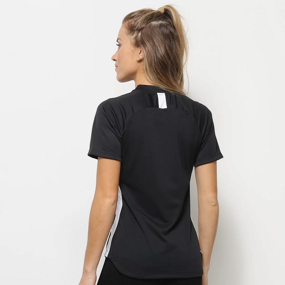 Camiseta Nike Dry Academy 19 Feminina - preta