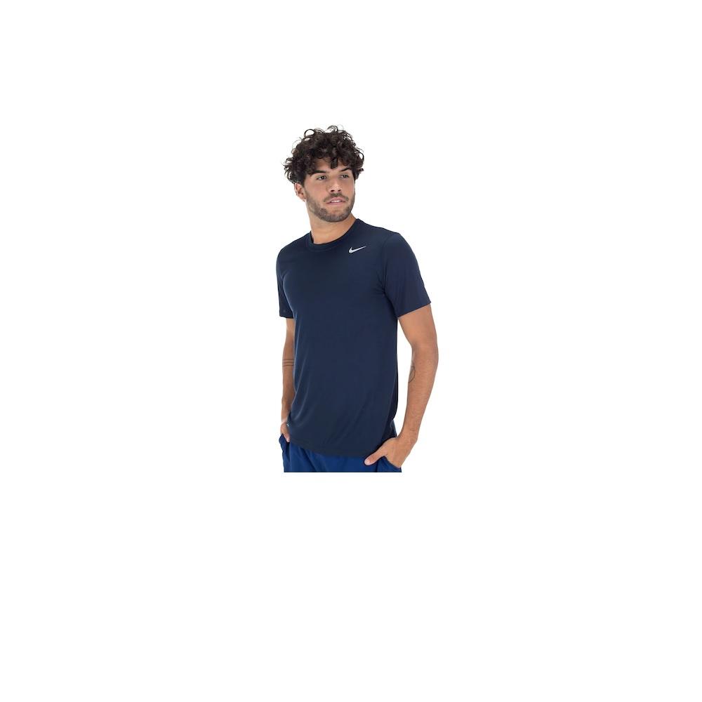 Camiseta Nike Dry Tee Lgd Azul Marinho