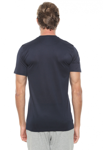 Camiseta Nike Dry Tee Lgd Azul-marinho
