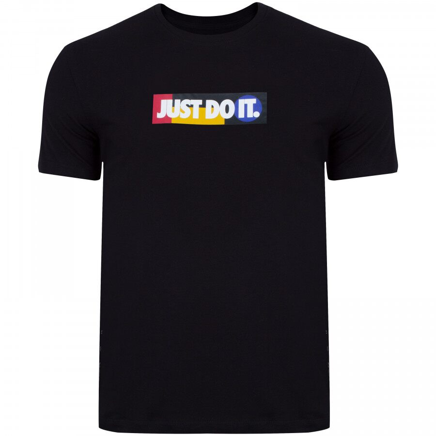 Camiseta Nike Just do It - Masculina - PRETA
