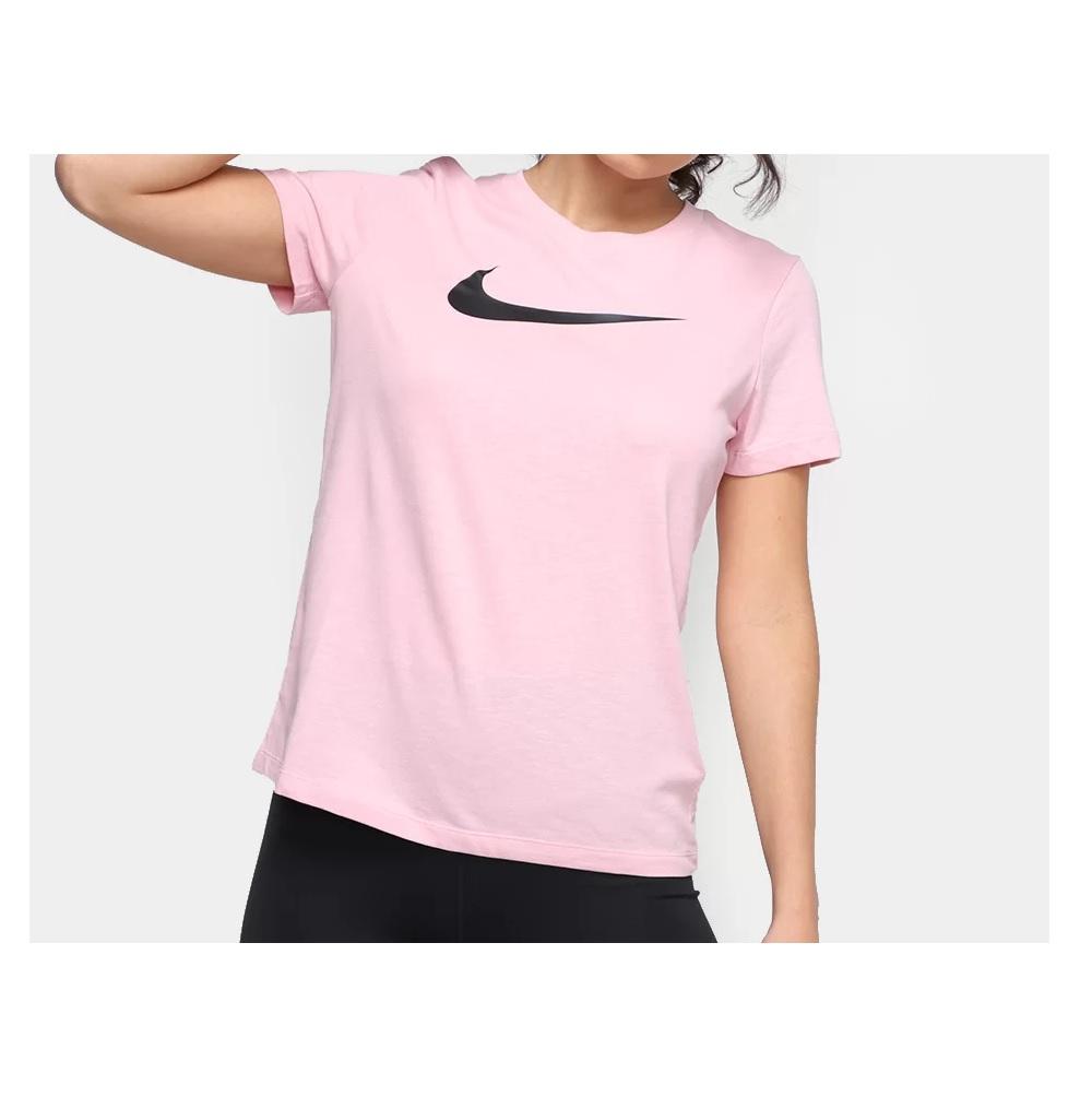 Camiseta Nike Nk Dry Dfc - Feminina - Rosa