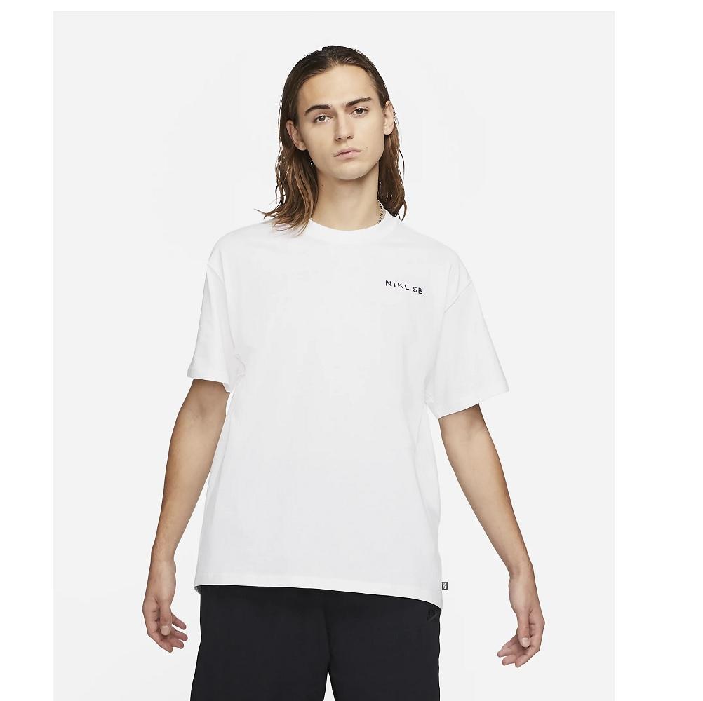 Camiseta Nike Skate Nike SB Lago - Masculina - Branca