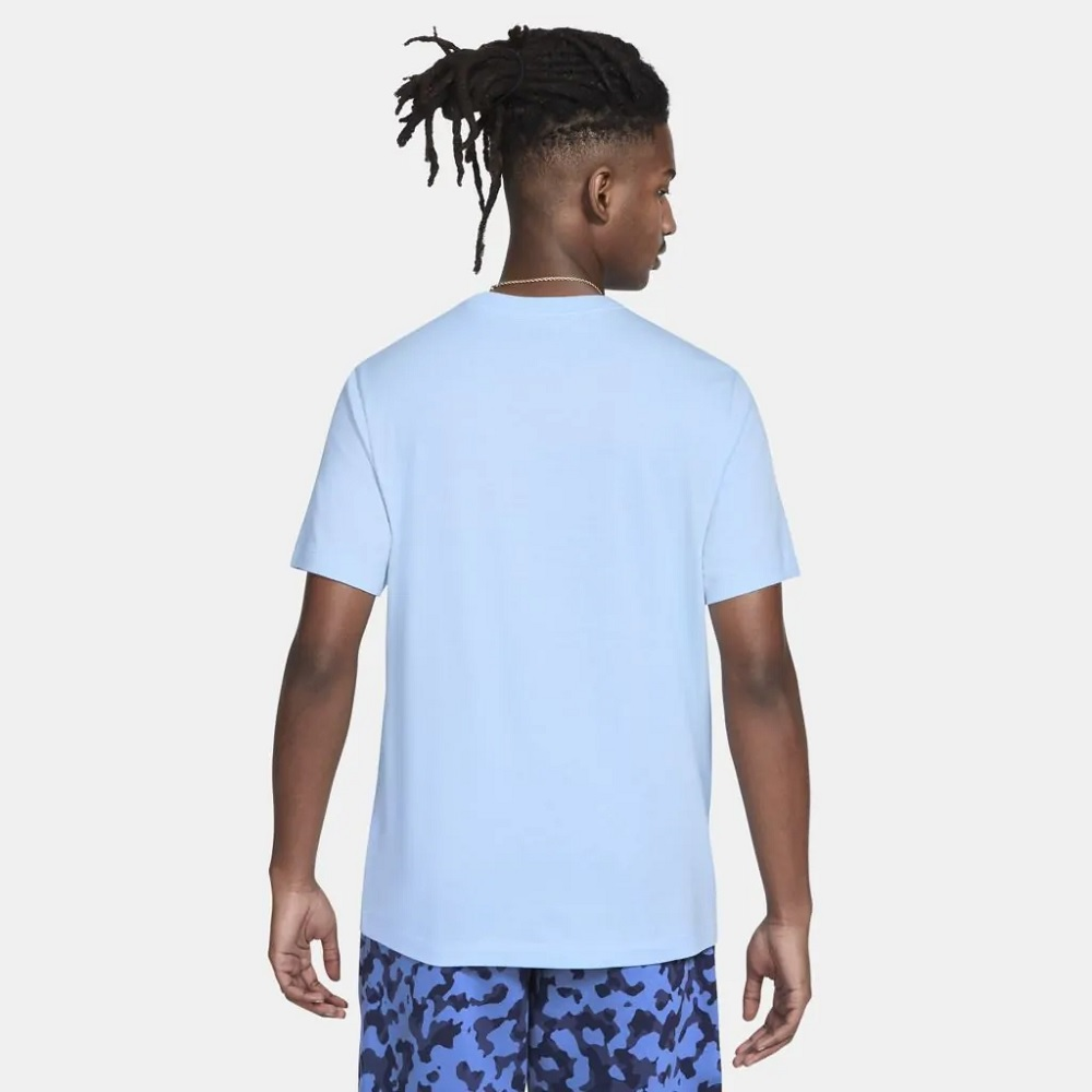 Camiseta Nike Sportswear Club Tee - Azul