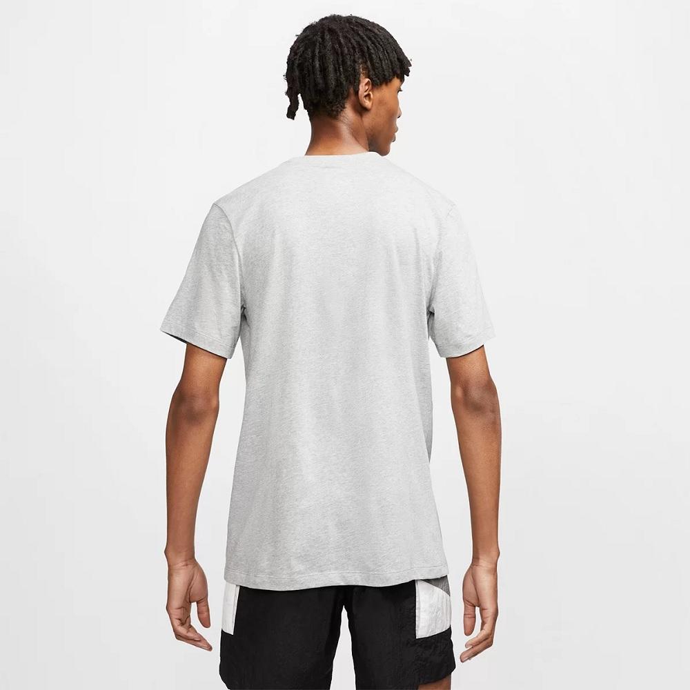 Camiseta Nike Sportswear Club Tee - Cinza