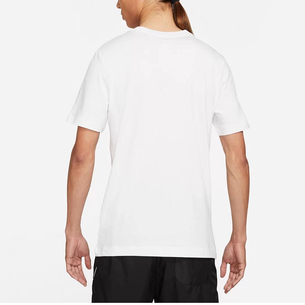 Camiseta Nike Sportwear Worldwide 3D Logo - Masculina - Branco