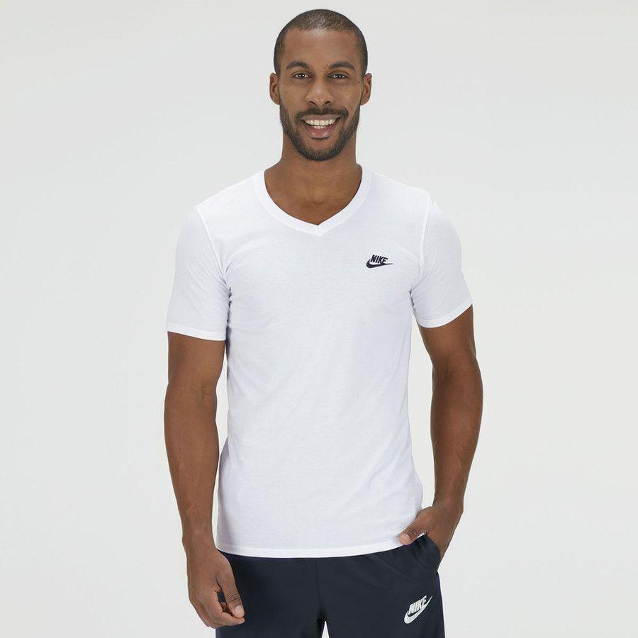 44ade6ce1f Camiseta Nike V Neck Embrd Futura Branca - Titanes Esportes