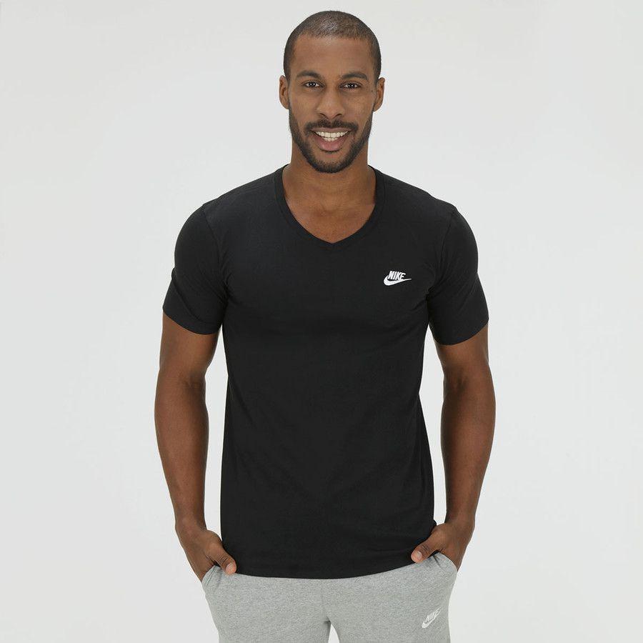 6df962ec5a Camiseta Nike V Neck Embrd Futura Preta - Titanes Esportes