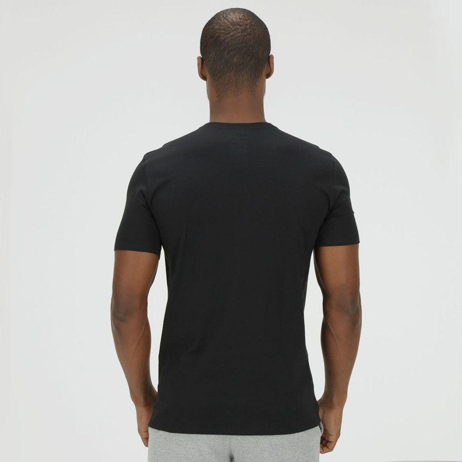 Camiseta Nike V Neck Embrd Futura Preta