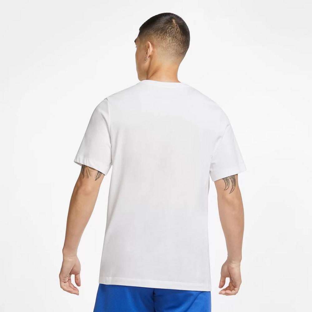 Camiseta Nike 'World Ball' Basketball - Masculina - BRANCA
