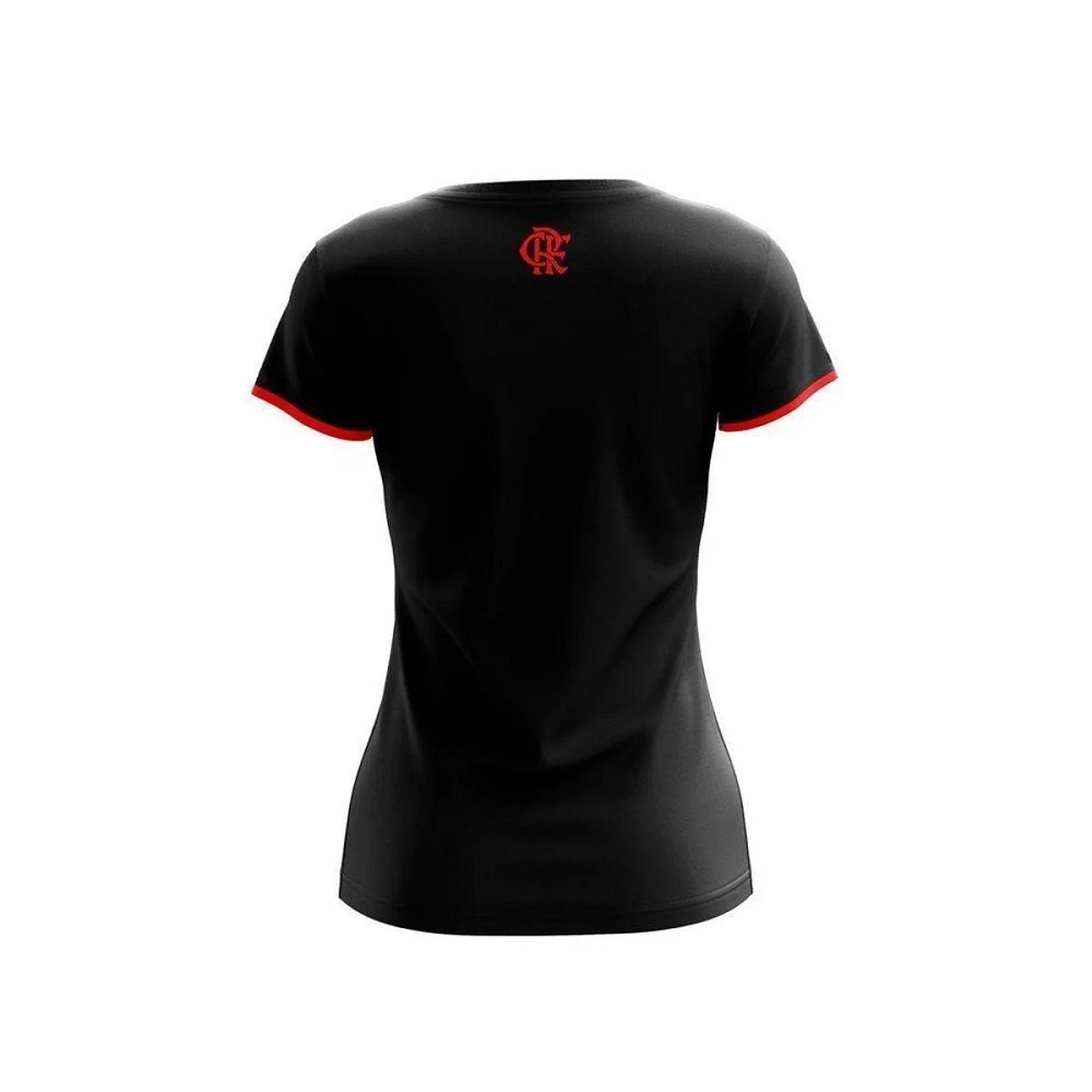 Camiseta Part Flamengo - Feminino - Braziline